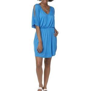 Cloud & Sky Blue Beach Dress, Size Juniors Medium